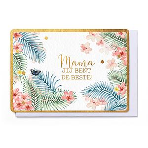 Enfant Terrible Enfant Terrible card + enveloppe 'Mama, jij bent de beste'