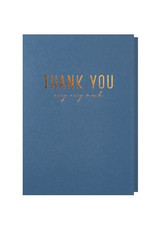 Papette Papette greeting card + enveloppe ' Thank you very very much'