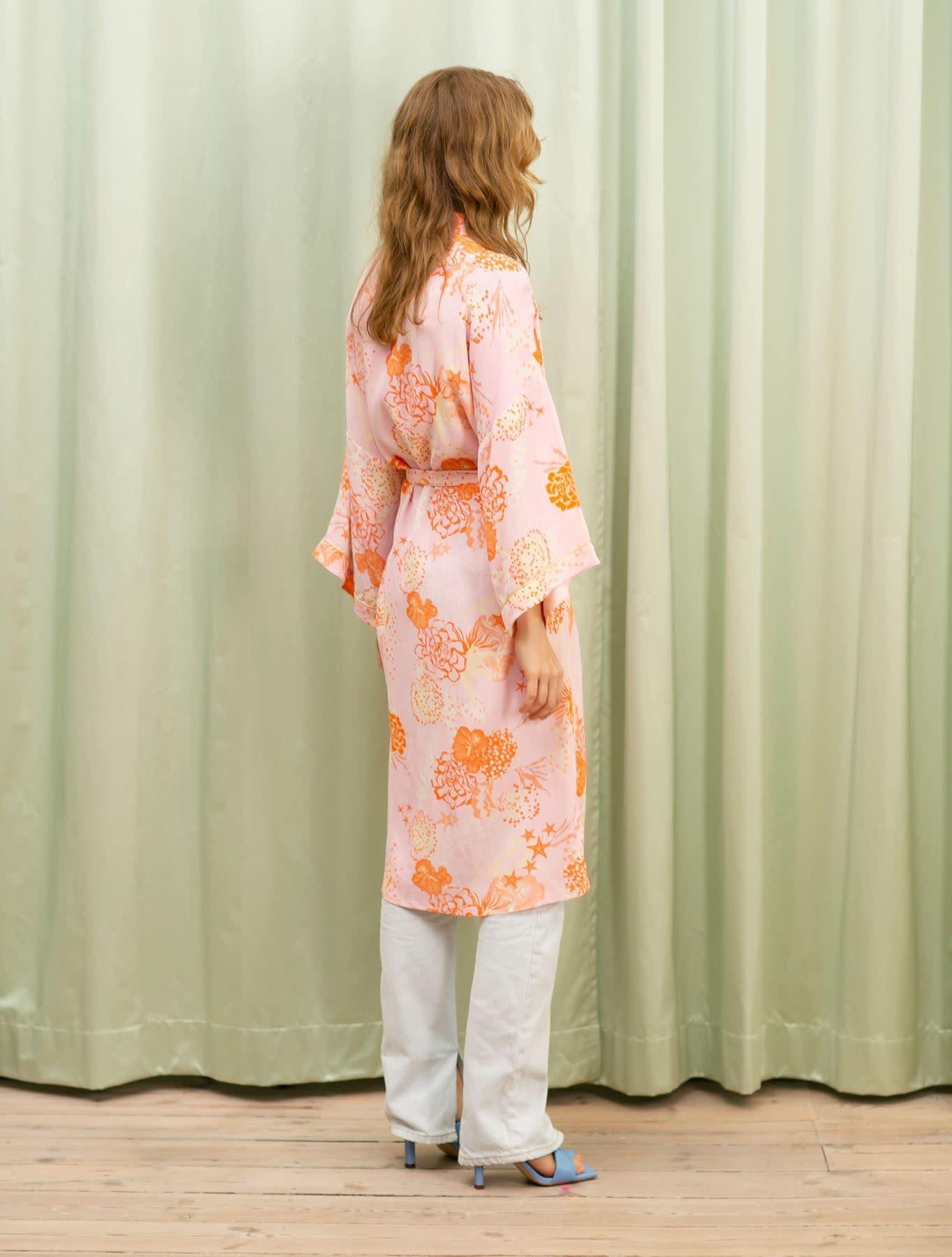Beck Söndergaard Seabed Liberte Kimono - Ballerina size Large