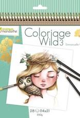 Avenue Mandarine Avenue Mandarine coloring book - Wild 3