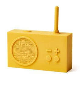 Lexon Tykho bluetooth speaker / FM radio Yellow