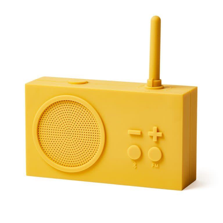 Lexon Tykho bluetooth speaker / FM radio Yellow