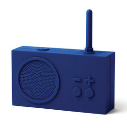 Lexon Tykho bluetooth speaker / FM radio Dark blue