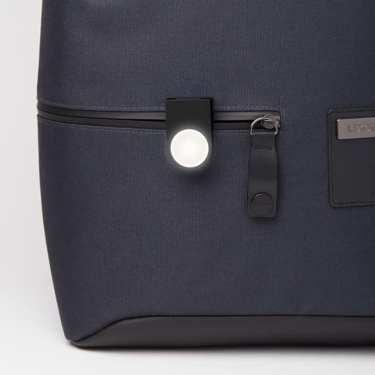 Lexon Lucie rechargeable clip light - black