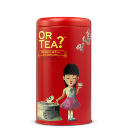 Or Tea? Or Tea? Tin canister Dragon well with Osmanthus