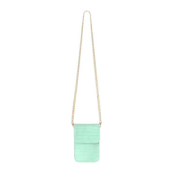 With love Bag croco on me - mint 11.50cm x 4cm x 19cm