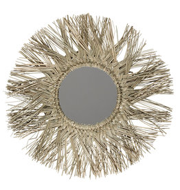 Liv Interior Mirror sea grass round dia 52 cm
