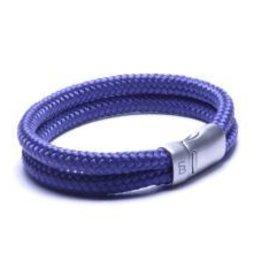Steel & Barnett Rope bracelet Lake - Navy - Size L