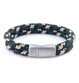 Steel & Barnett Rope bracelet Lake - Hunter camo - Size M