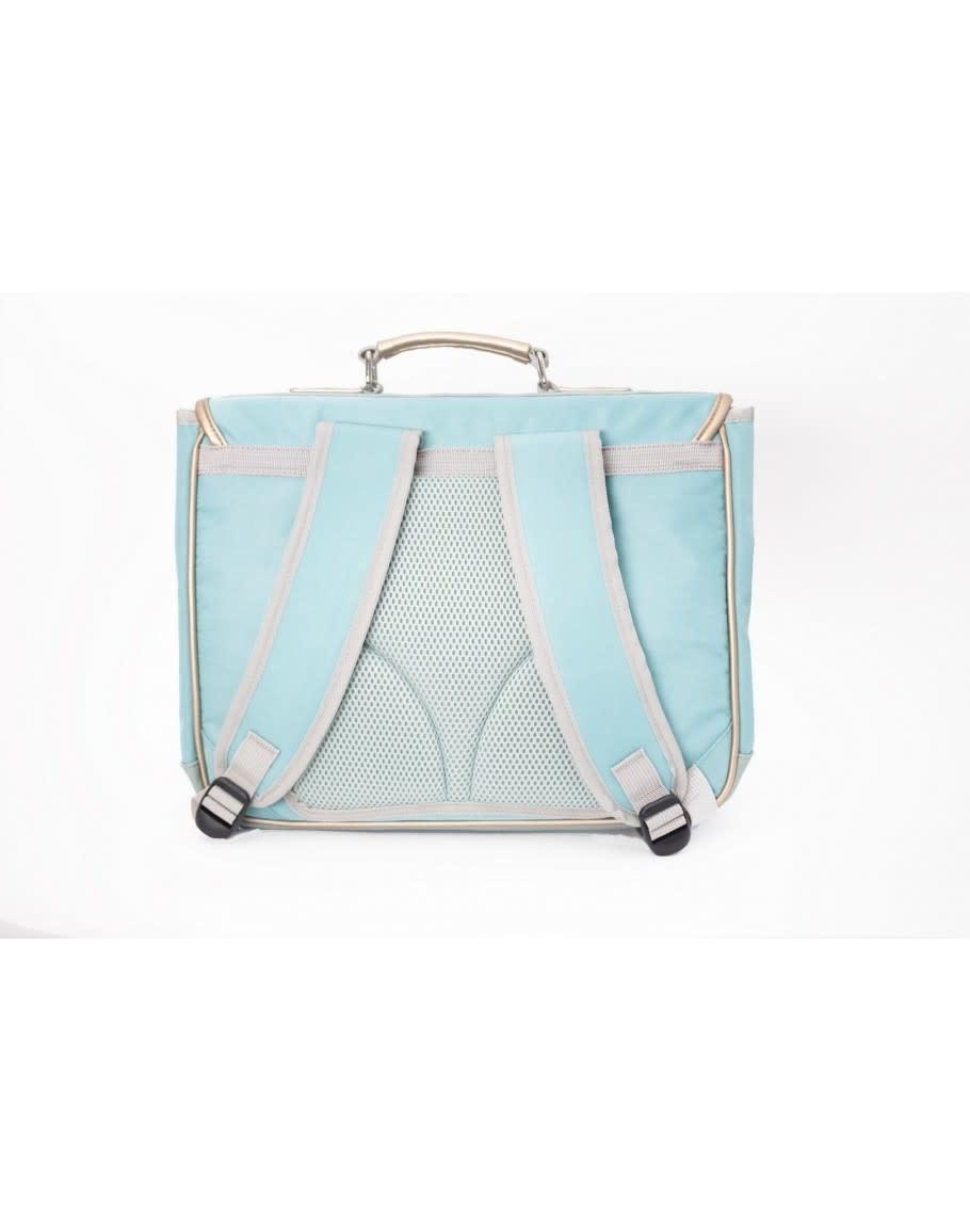 Caramel & cie Medium schoolbag Fraises de bois 38 x 31x12 cm