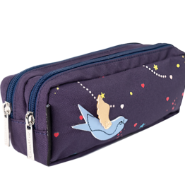 Caramel & cie Double pencil case Jardin d'Eden