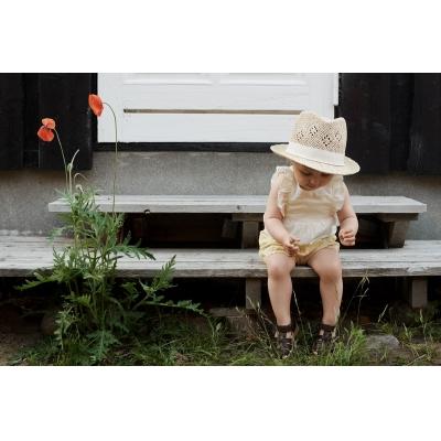 Wheat Romper Emmaline - white