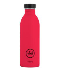 24Bottles 24Bottles urban bottle 050 hot red