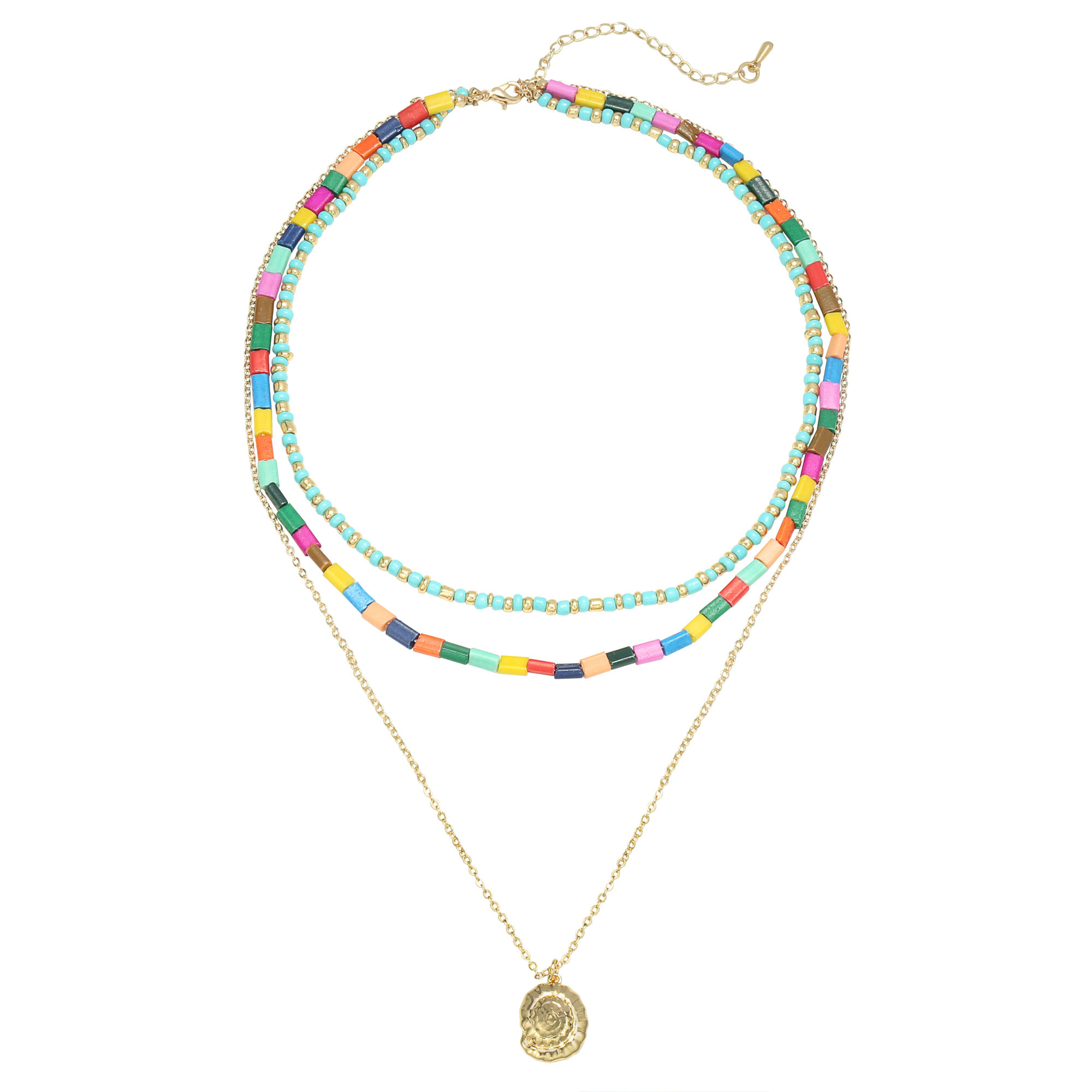 With love Necklace summer beads