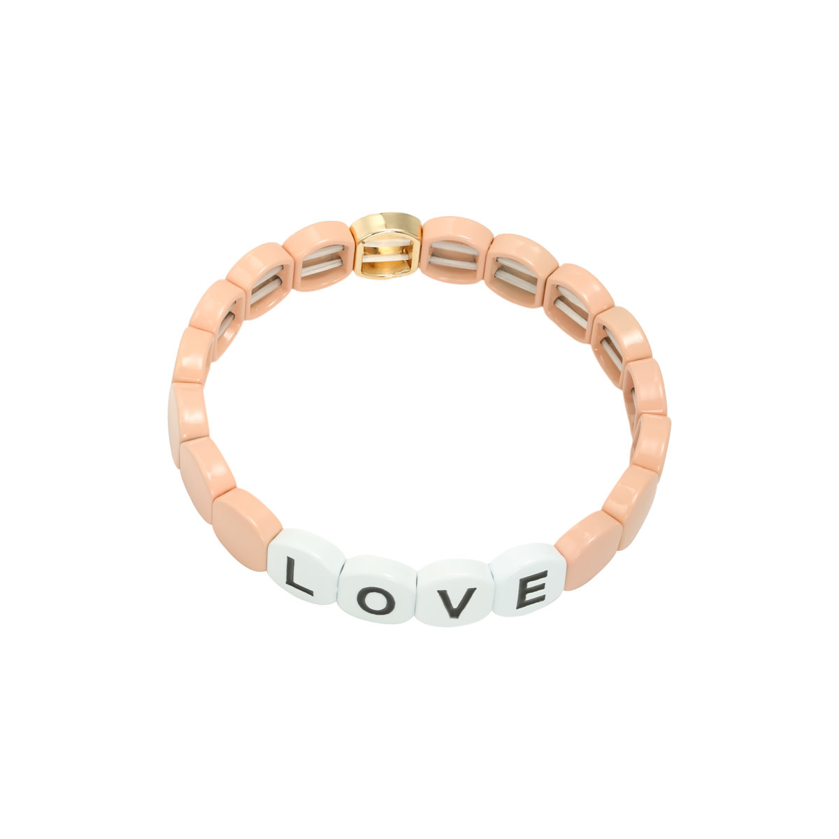 With love With love bracelet Colorfol LOVE - pink