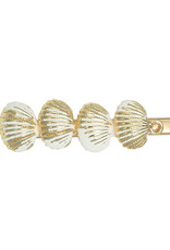 With love Hair clip summer shells