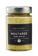 Lie Gourmet Mustard parsley - basil - garlic