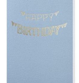 Papette Papette greeting card + enveloppe 'Happy birthday slingers'