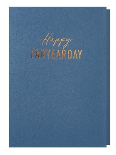 Papette Papette greeting card ocean 'Happy faryearday'
