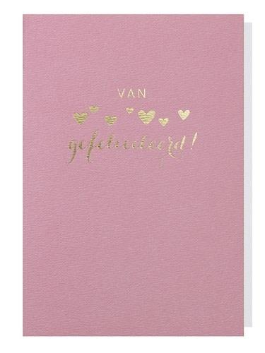 Papette Papette greeting card + enveloppe 'Van harte'