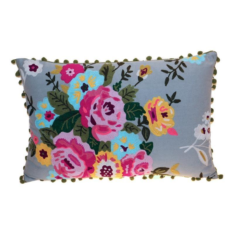 Cushion flowers 40 x 60 cm