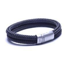Steel & Barnett Rope bracelet Lake - Black - Size L