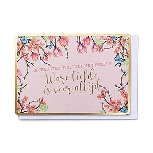 Enfant Terrible Enfant Terrible card + enveloppe 'Ware liefde is voor altijd'