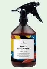 The Gift Label Room spray - Damn good vibes - Cotton - 500 ml.
