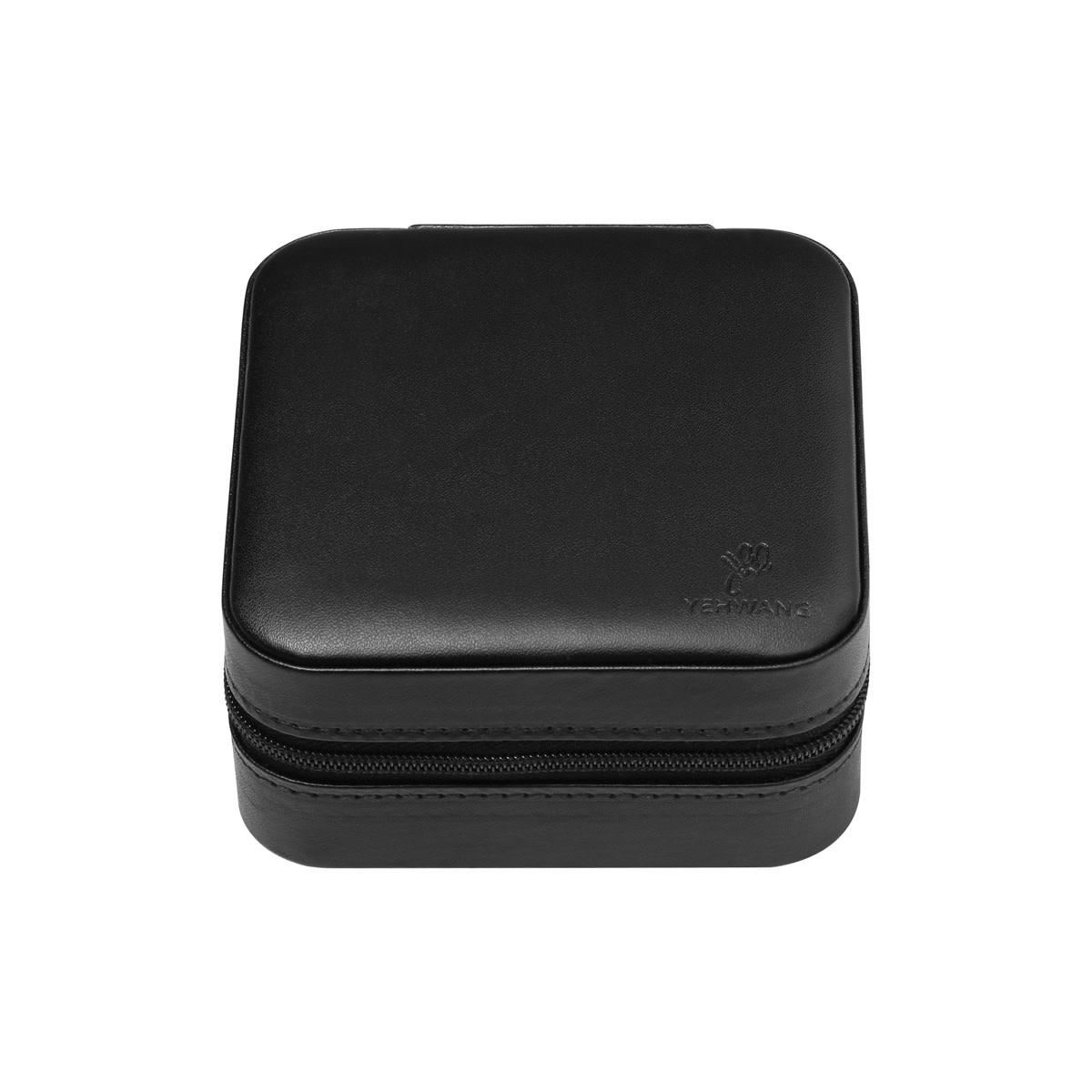 With love Jewellery box black 10.50 x 10.50 cm