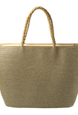 With love Beach bag under the sun - gold 53cm x 33cm x 20cm