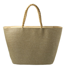 With love Beach bag under the sun - gold 53cm x 33cm x 20cm