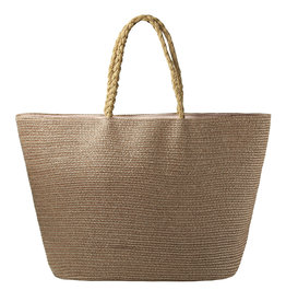With love Beach bag under the sun - bronze 53cm x 33cm x 20cm