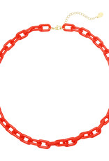 With love Necklace color combi red