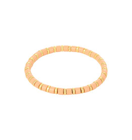 With love Bracelet sugar beads - orange