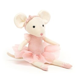 Jellycat Pirouette mouse Candy 27 x 6 cm