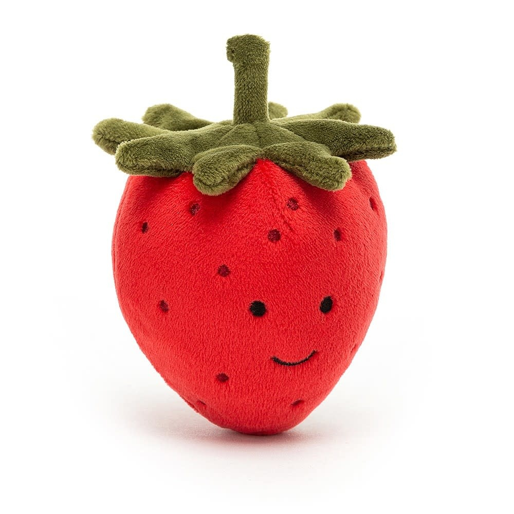 Jellycat Fabulous fruit strawberry 8 x 7 cm