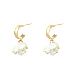 With love Earrings Arielle pearl