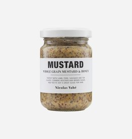 Nicolas Vahé Mustard whole grain & honey 140 gr.