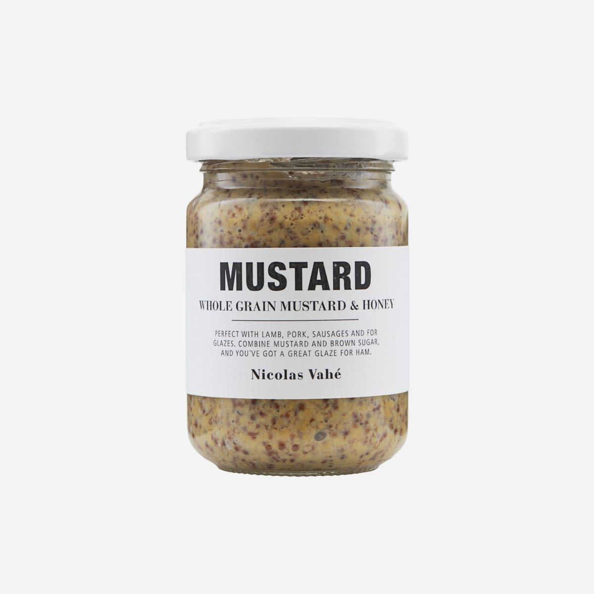 Nicolas Vahé Mustard whole grain & honey 140 gr.
