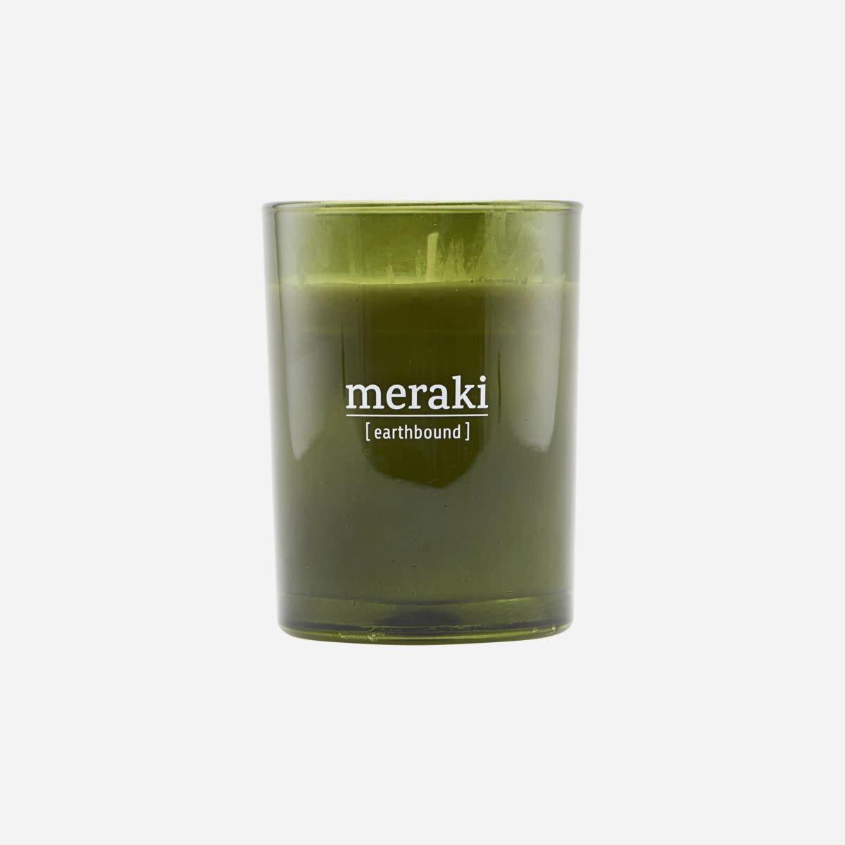 Meraki Meraki scented candle earthbound 8 x 10,5 cm