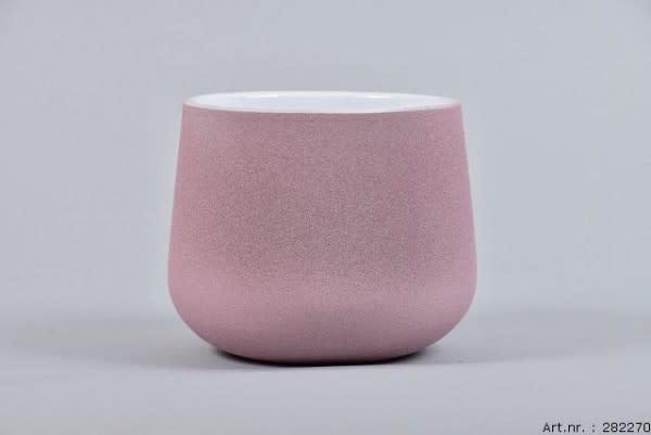 Flower pot Berlin pink 13 x 11 cm