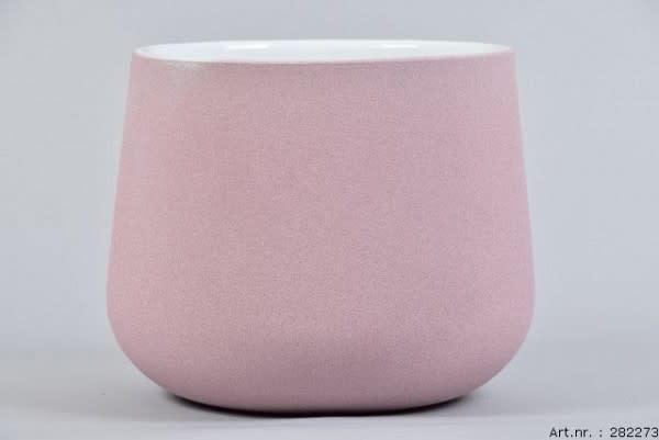 Flower pot Berlin pink 19 x 15 cm