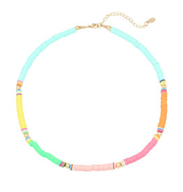With love Surf necklace multi color