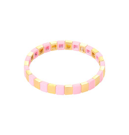 With love With love bracelet Colored bricks - pink