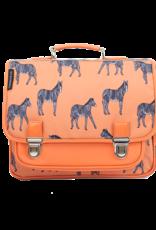 Caramel & cie Medium schoolbag zebra 38 x 31 x 12 cm