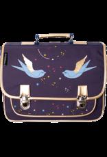 Caramel & cie Medium schoolbag swallows 38 x 31 x 12 cm