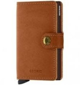Secrid Secrid miniwallet original - cognac brown