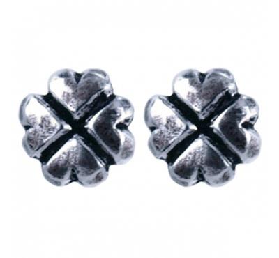Treasure Silver earrings good luck