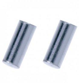 Treasure Silver earrings bar 2.0 x 5 mm