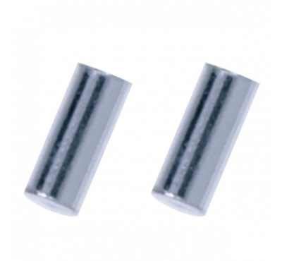 Treasure Silver earrings bar 2.0 x 5 mm